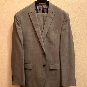 Joseph Abboud Slim Fit wool dress suit, 44R 38W